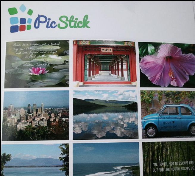 PicStick 9 photo magnets, PicStick Photo Selections, PicStick, photo magnets, magnets, photography