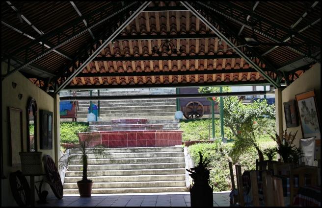 Restaurant, Puerto San Juan, Suchitoto, El Salvador, travel, photography, TS76