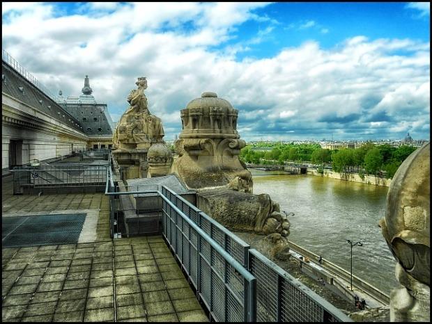 Musée d'Orsay, River Seine, la Seine, Paris, France, travel, photography