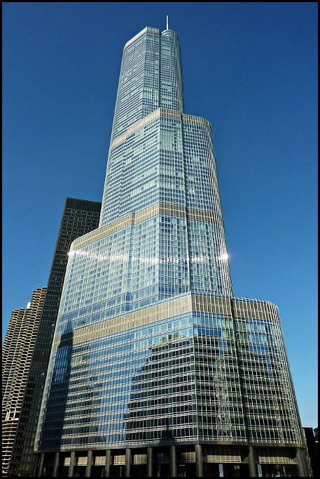 Trump International Hotel Chicago, Trump Tower, Chicago, Illinois, hotel, travel, photography