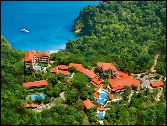 Aerial view, Parador Resort &Spa, Costa Rica, Tiquicia, Central America, Centro America, travel, photography