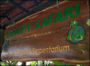 Canopy Safari, Canopy Safari Tours, Costa Rica, Tiquicia, Canopy, Sign, Manuel Antonio, Quepos, Travel, Photography, TS76