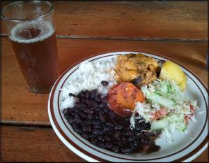 Typical Costa Rican Lunch, lunch, food, foodie, Costa Rica, Canopy Safari, photography, TS76
