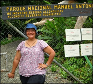 Karla at Parque Nacional Manuel Antonio, Costa Rica, travel, photography, TS76