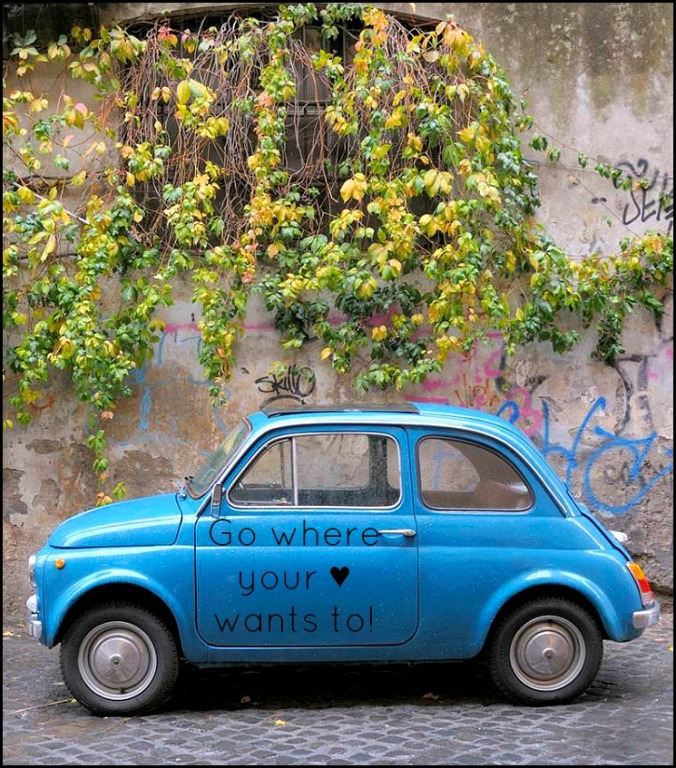 Travel, travel Quote, Fiat 500, blue Fiat 500, photography