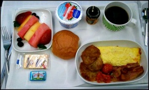 breakfast, in flight food, gourmet food, Finnair, business class, J class, travel, photography, TS76