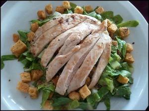 Chicken Caesar Salad, ensalada cesar con pollo, foodie, food porn, gourmet food, Parador Resort and Spa, Costa Rica, travel, photography, TS76