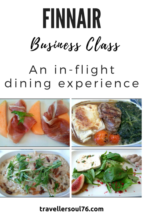Flying to Scandinavia, westwards to the Americas or to the Far East? Finnair is a great airline that will take you there in comfort. Let yourself be treated like royalty in Business class. Come take a look at some of the delicious food served on board.