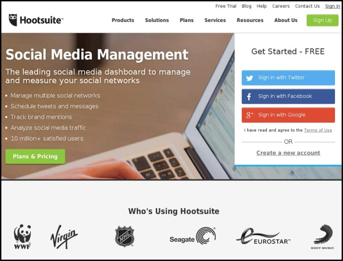 Social Media, Social Media Management, Hootsuite