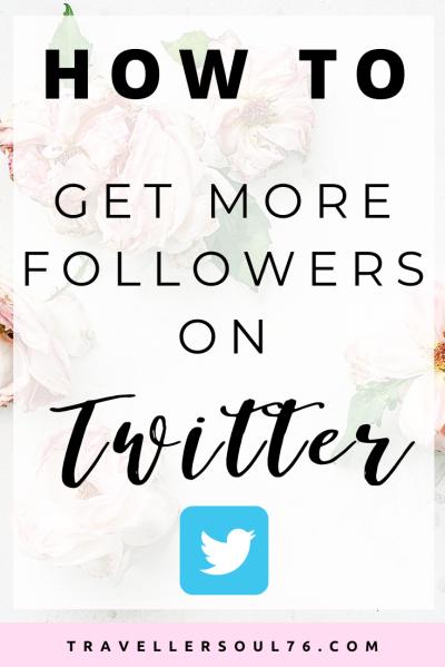 Love to Tweet away? Check out 10 tips on How To Get More Followers On Twitter! #Twitter #TwitterTips #socialmedia #socialmediatips #growthhacks
