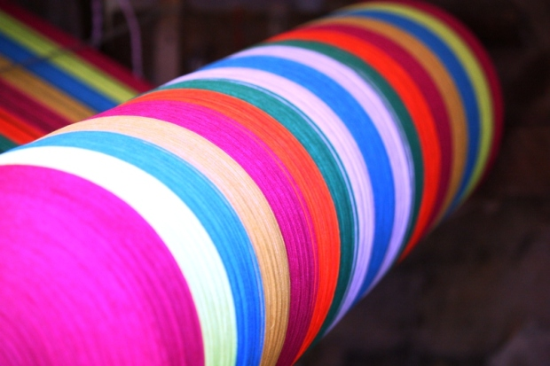 colorful threads, weaving,  San Sebastian, El Salvador, central america, ruta artesanal, travel, photography