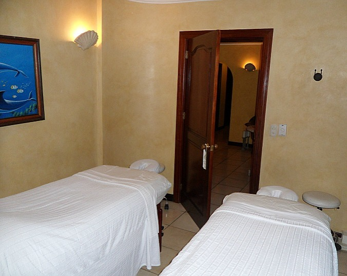 couples treatment room, two massage tables, Pacifica Spa, Parador Resort and Spa, Costa Rica, travel, photography