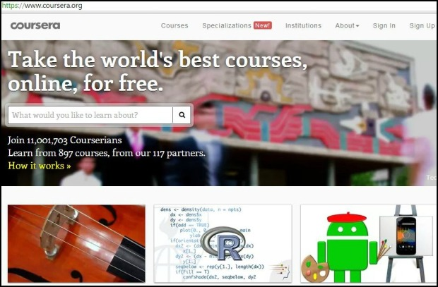 Coursera,  free online, education, education site, learning