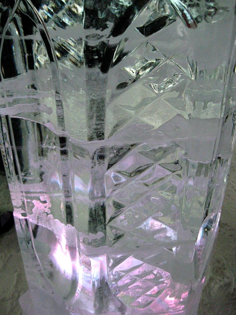 ice column, Ice Hotel, Hôtel de Glace, Quebec, Canada, travel, photography, TS76