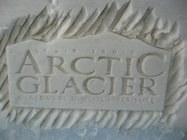 Brand, brand on snow, brand promotion, Arctic Glacier,  Ice Hotel, Hôtel de Glace, Quebec, Canada, travel, photography, TS76