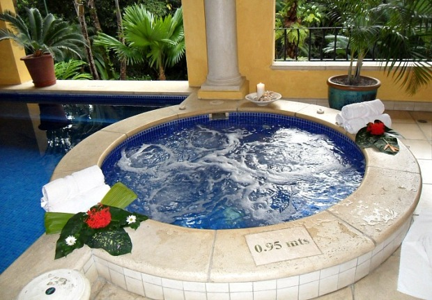 Jacuzzi, whirlpool, Pacifica Spa, Parador Resort, Costa Rica, Spa, Central America, health, beauty, travel, photography, TS76
