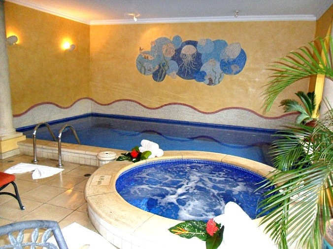 Jacuzzi, pool, Pacifica Spa, Parador Resort and Spa, Costa Rica, travel, photography