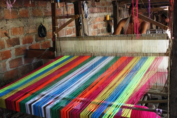 Loom,  San Sebastian, El Salvador, central america, ruta artesanal, travel, photography
