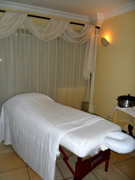 Massage table, treatment room, Pacifica Spa, Parador Resort, Costa Rica, Spa, Central America, health, beauty, travel, photography, TS76