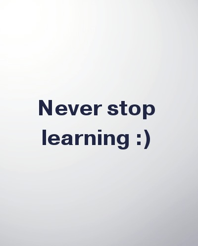 Quote, education, Never Stop Learning, TS76