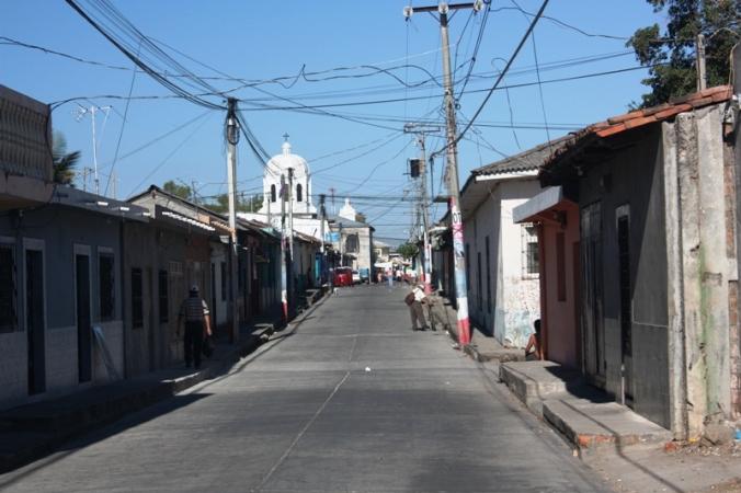 street, San Sebastian, El Salvador, central america, ruta artesanal, travel, photography