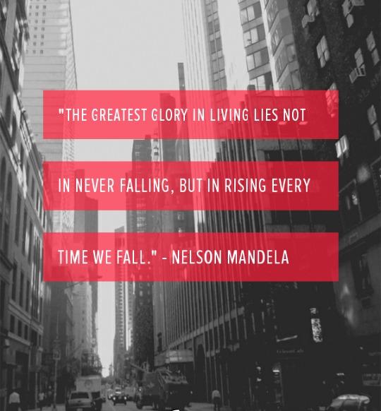 success, quote, success quote, Nelson Mandela, motivation, inspiration, TS76