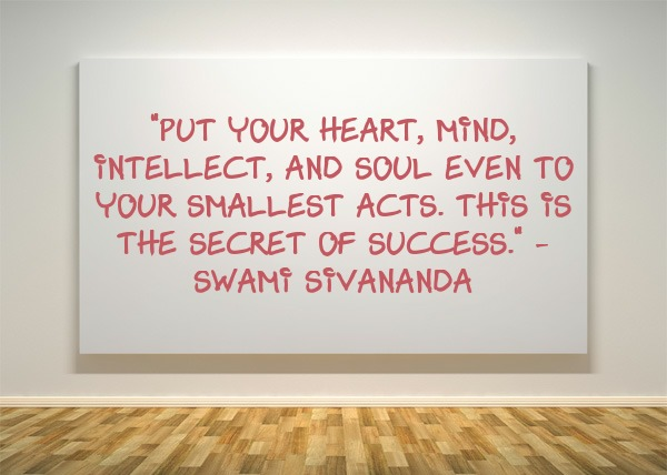 success, quote, Swami Sivananda, success quote, motivation, inspiration, TS76