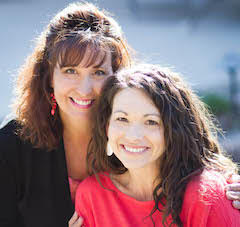 Becky Johnson, Rachel Randolph, authors, writers, Nourished, book, book review, writing, spirituality, religion, inspiration, women's issues