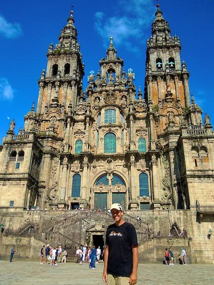 Santiago de Compostela, Cathedral, Spain, Randall St Germain, Camino de Santiago in 20 days, Canada, photography