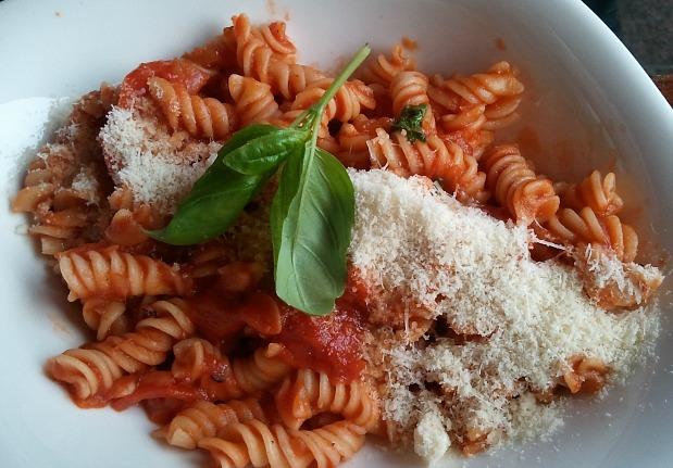 Rotini al pomodoro, pasta, italian, foodie, food pics, photography, TS76