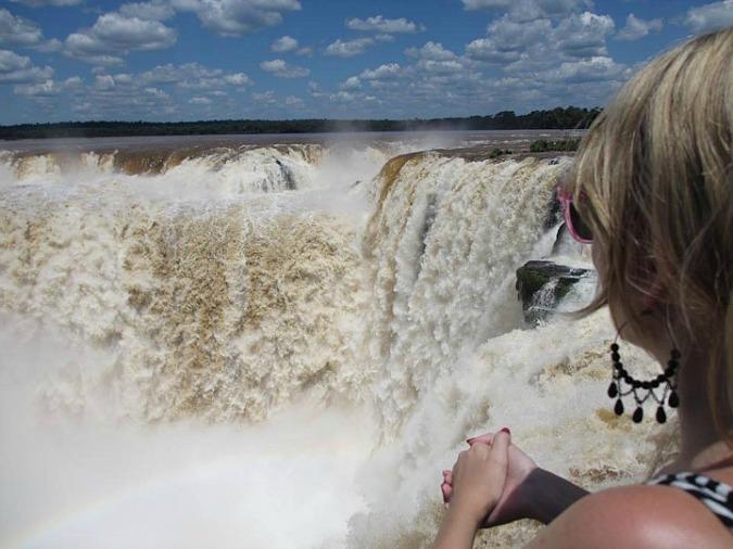 Hanne Hellvik, travel, travel blogger, photography, Iguazu Falls, Brazil, waterfalls