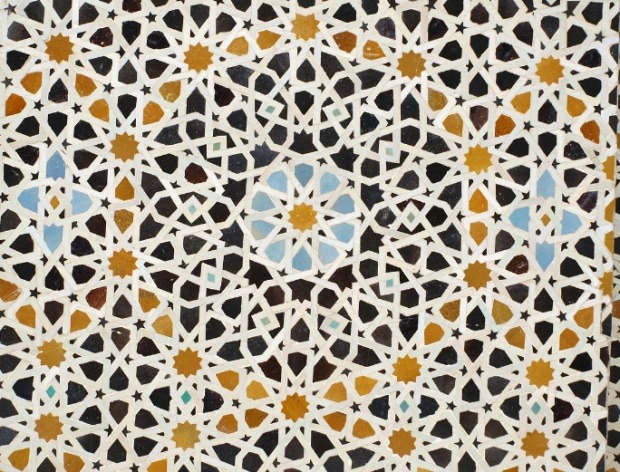 Mosaic, ceramic, Fez,Morocco, Maroc, travel, photography