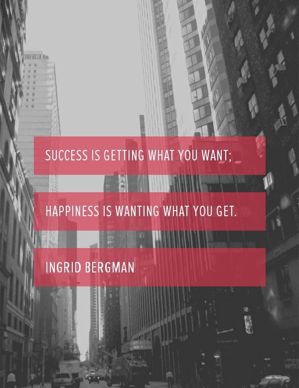Ingrid Bergman, success, success quote, quote, women, quote, quote of the day, quote by women