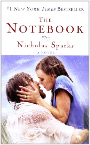 Nicholas Sparks, The Notebook, book, best seller, love, top 5 books