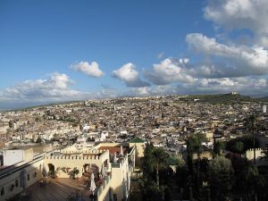 view, aerial view, Fez,Morocco, Maroc, travel, photography