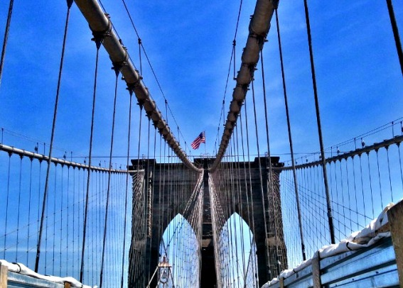 Bridge, Brooklyn Bridge, NYC, structure, suspended bridge, travel, photography, TS76