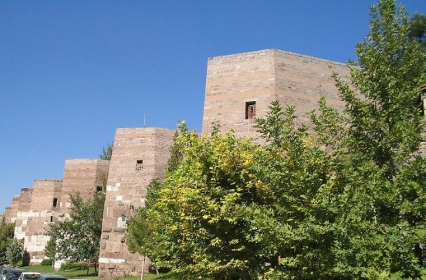 Castle, walls, Ankara, Turkey, travel, photography, bucketlist