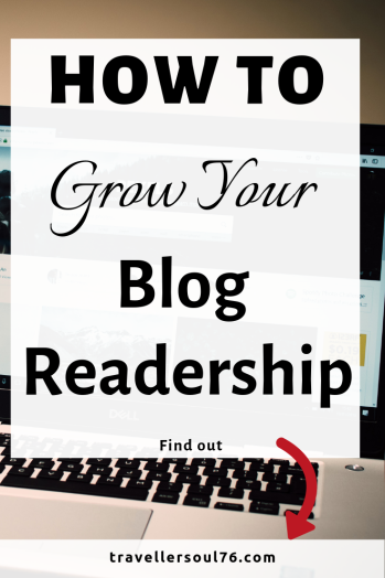 Want more visitors and readers? Here I share How To Grow Your Blog Readership and explain how I started blogging and how I drive traffic back to the blog and get more readers. Read more! #bloggers #blogging #bloggingtips #readership #howto #bloggingforbeginners #bloggingforbusiness #drivetraffic #socialmediatips #blog