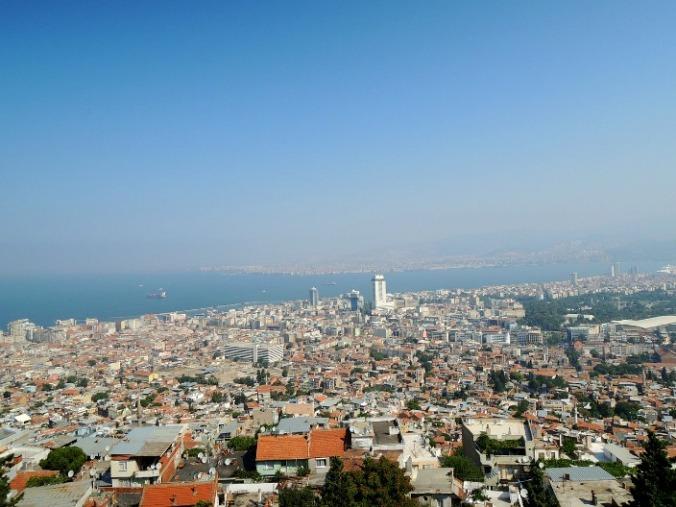 aerial view, Izmir, Turkey, travel, photography, bucketlist