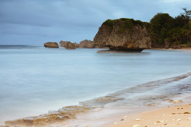 Bathsheba, Barbados, boulders offshore, beach, travel, photography
