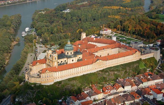 Benedictine Abbey, Melk, Germany, Deutschland