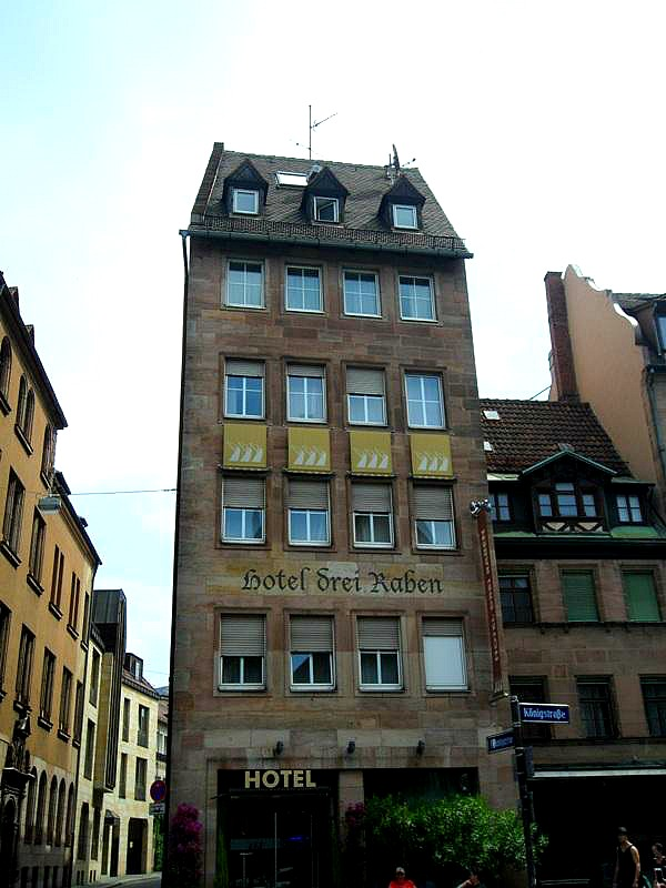 Hotel, Hotel Drei Raben, Nuremberg, Germany, Nürnberg, Deutschland, travel, photography, TS76