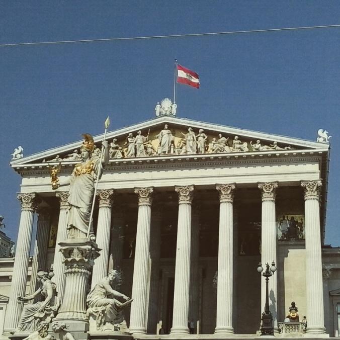 Parlament, Vienna, Wien, Austria, Osterreich, architecture, structure, building, photography, TS76