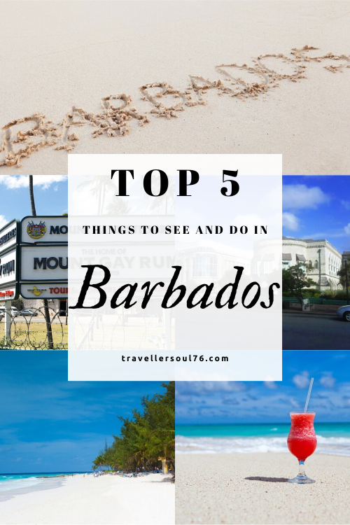 Want to get away from it all and head to the Caribbean? Check out the Top 5 things to see in do in Barbados. Go have some fun in the sun! #travel #bucketlist #travelblog #Caribbean #vacation #traveldestinations #Barbados #wanderlust #barbadosthingstoseeanddo #barbadostop5 #travelinspires