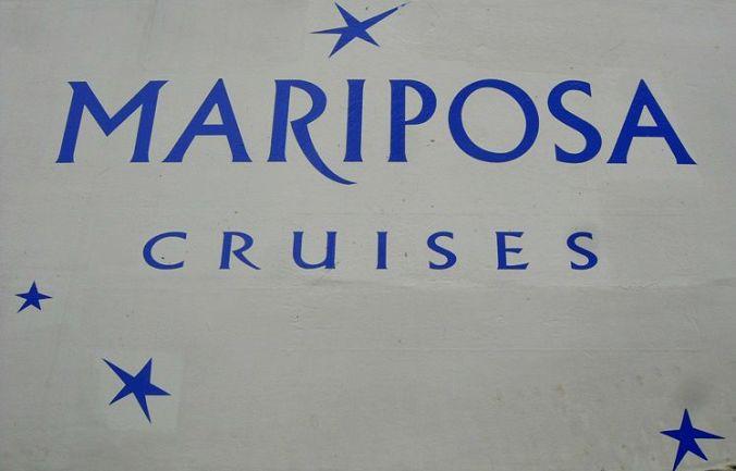 Mariposa Cruises, Logo
