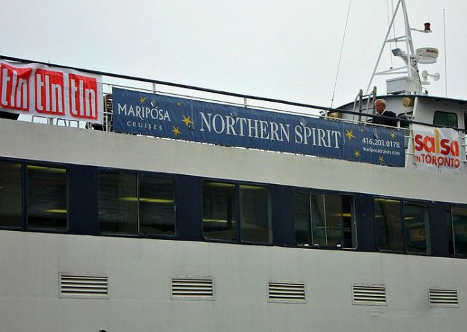 Mariposa Cruises, Northern Spirit Ship