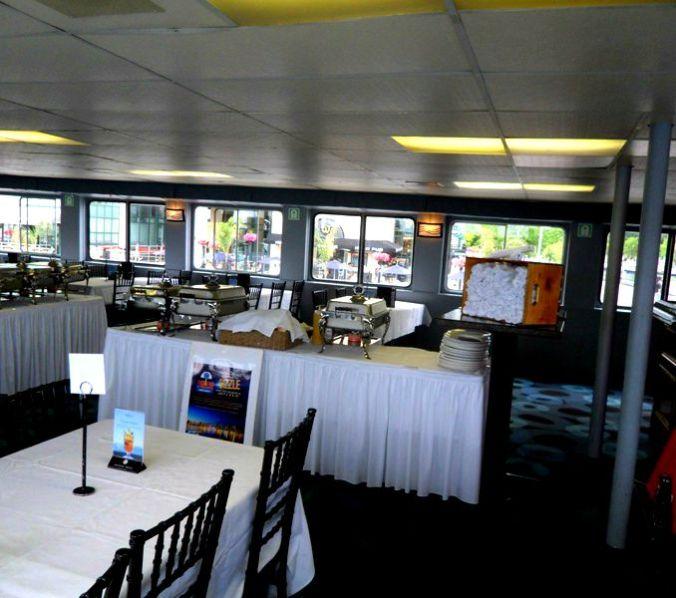 Mariposa Cruises, Northern Spirit Ship, dining room, TS76