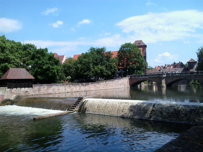 Pegnitz, Pegnitz River, Europe, Nürnberg, Nuernberg, Nuremberg, Germany, Deutschland, Reisen, Travel, photography, TS76