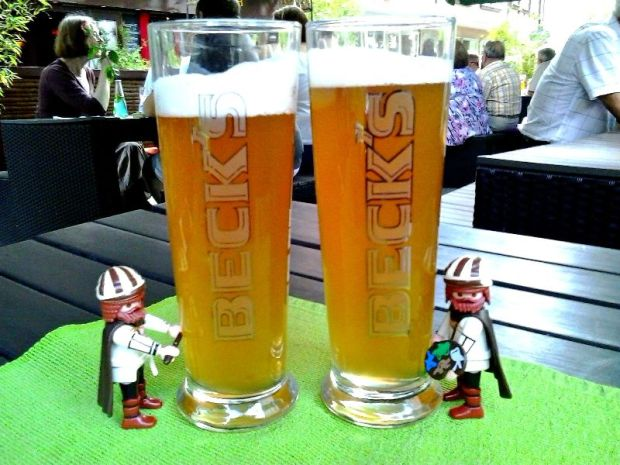 Nuremberg, Germany, Nürnberg, Deutschland, SEON bar, drinks, Becks, beer, bier, travel, TS76