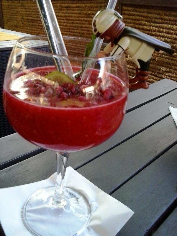 Nuremberg, Germany, Nürnberg, Deutschland, SEON bar, strawberry daiquiri, drink, travel, TS76
